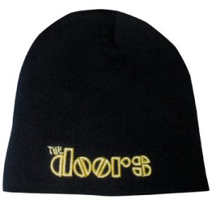 Doors, The: Beanie - Yellow Logo