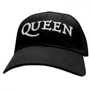 Queen: Baseball Cap - White Logo