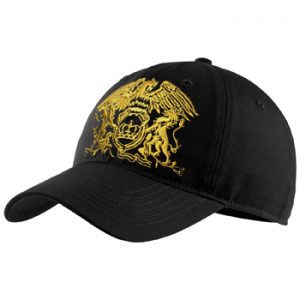 Queen: Baseball Cap - Gold Classic Crest