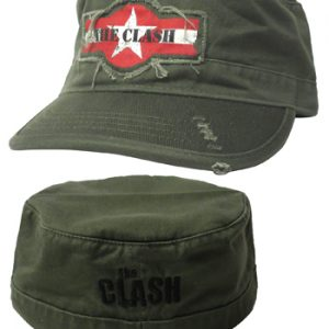 Clash, The: Military Cap - Star Logo (Distressed)