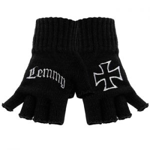 Motorhead: Gloves - Lemmy Logo Fingerless