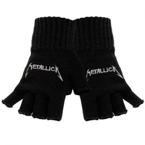 Metallica: Gloves - Logo Fingerless