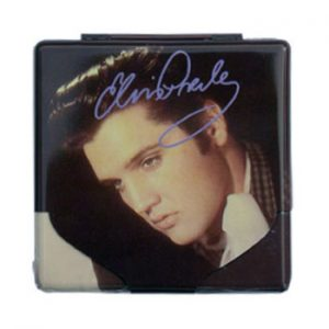 Elvis Presley: Cigarette Case - Portrait