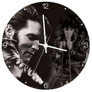 Elvis Presley: Clocks - Wall Clock - The King of R&R