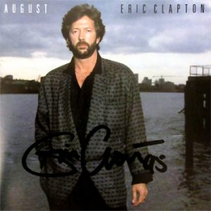 Eric Clapton: Autograph - Signed CD Cover