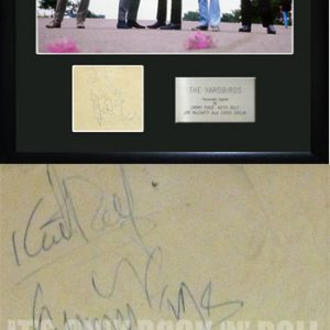 Yardbirds, The: Autograph - Signed Paper
