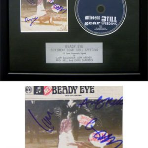 Beady Eye: Autograph - Signed CD Cover