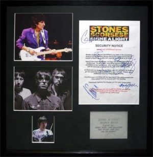 Oasis: Autograph - Ronnie Wood and Oasis