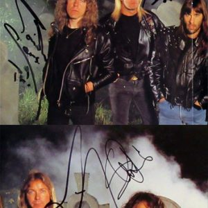 Iron Maiden: Autograph - Signed Programme