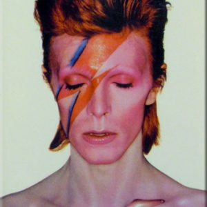 David Bowie: Fridge Magnet - Aladdin Sane