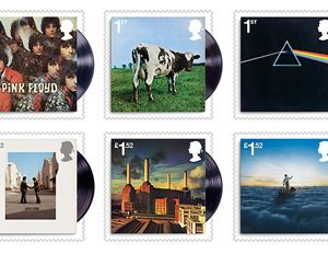 Pink Floyd: Stamps - Classic Album Covers