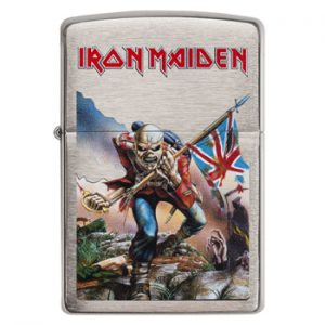 Iron Maiden: Zippo Lighter - The Trooper
