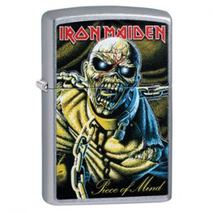 Iron Maiden: Zippo Lighter - Piece Of Mind