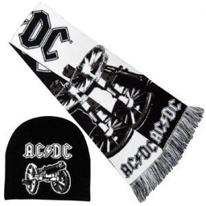 AC/DC: Beanie - For Those About to Rock Beanie and Scarf Set