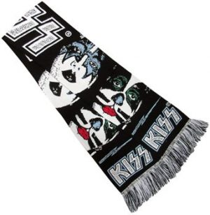 Kiss: Scarf - Faces