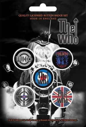 Who, The: Badge Pack - Set of 5