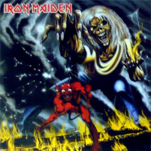 Iron Maiden: Fridge Magnet - The Number Of The Beast