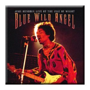 Jimi Hendrix: Pin - Blue Wild Angel