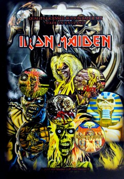 Iron Maiden: Badge Pack - Early Years Set of 5