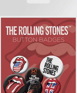 Rolling Stones, The: Badge Pack - Lips