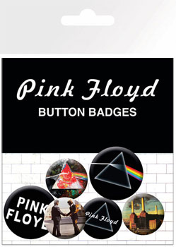 Pink Floyd: Badge Pack - Album and Logos