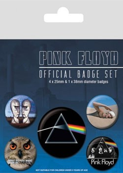 Pink Floyd: Badge Pack - Darkside Of The Moon