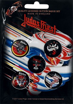 Judas Priest: Badge Pack - Set of 5