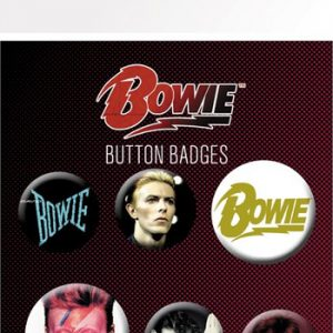 David Bowie: Badge Pack - Mix
