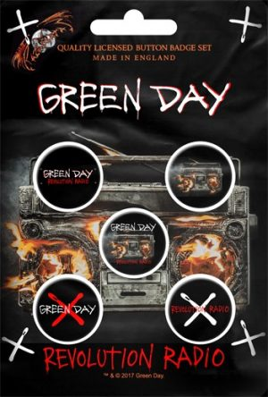 Green Day: Badge Pack - Revolution Radio Set of 5