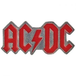 AC/DC: Pin - Red Logo