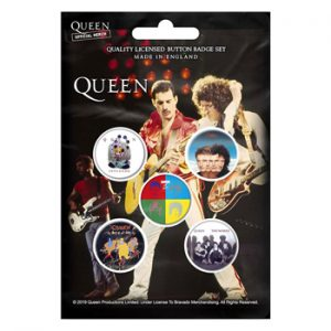 Queen: Badge Pack - Later Albums Set of 5