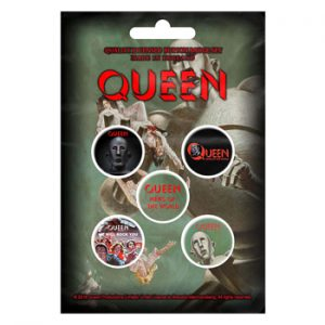 Queen: Badge Pack - News of the World Set of 5