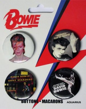 David Bowie: Badge Pack - Set of 4
