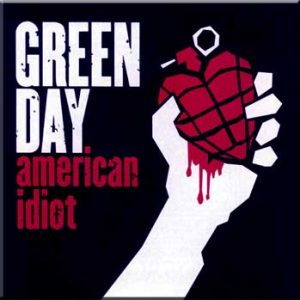Green Day: Fridge Magnet - American Idiot
