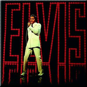 Elvis Presley: Fridge Magnet - On Stage