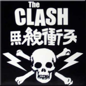 Clash, The: Fridge Magnet - Skull Logo