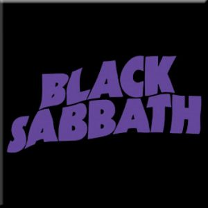 Black Sabbath: Fridge Magnet - Wave Logo