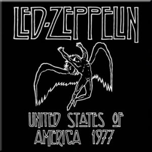 Led Zeppelin: Fridge Magnet - 1977 USA Tour