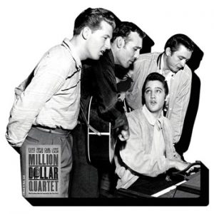 Elvis Presley: Fridge Magnet - Million Dollar Quartet