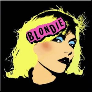 Blondie: Fridge Magnet - Punk Logo