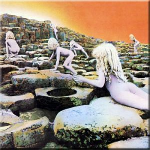 Led Zeppelin: Fridge Magnet - Houses of the Holy