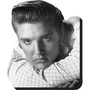 Elvis Presley: Fridge Magnet - Heart Throb