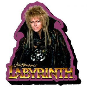 David Bowie: Fridge Magnet - Labyrinth Jareth