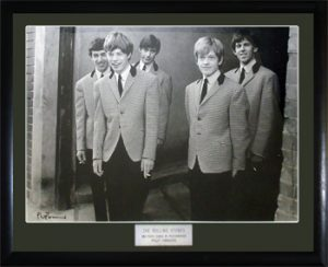 Rolling Stones, The: Photographs - 1963 Framed Photograph