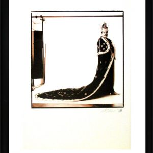 Queen: Photographs (Framed) - Freddie Mercury in His 'Royal Robes'
