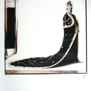 Queen: Photographs (Unframed) - Freddie Mercury in His 'Royal Robes'