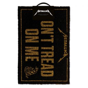 Metallica: Homeware - Don't Tread On Me Doormat