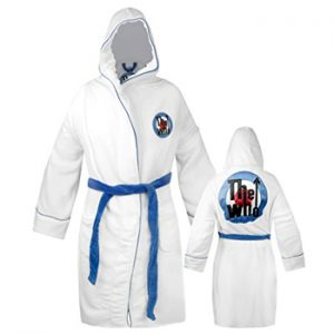Who, The: Bathrobe - Bullseye Logo White
