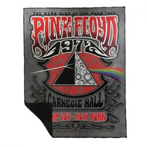 Pink Floyd: Fleece - Carnegie Hall Fleece Throw Blanket