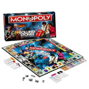 Rolling Stones, The: Game - Monopoly Collectors Edition